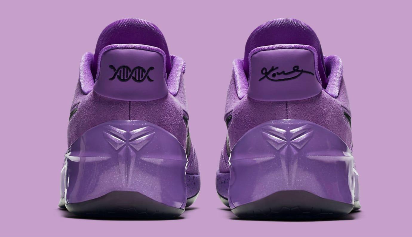 Nike Kobe A.D. Purple Stardust Lakers Release Date Heel 852427-500