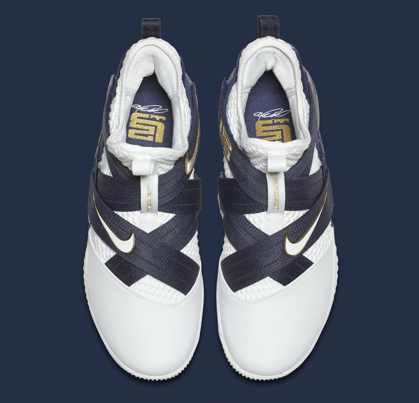0f930dc546a Nike LeBron Soldier 12 XII Witness Navy Release Date AO4055-100 Top