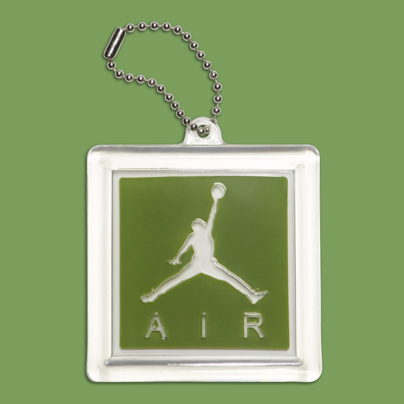 09bae03c54c Image via Nike Air Jordan 3 III Chlorophyll Tinker Release Date 136064-006  Hang Tag