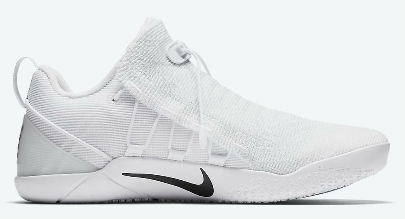 the best attitude 4fc97 db189 Nike Kobe A.D. NXT White Black Release Date Medial 882049-100