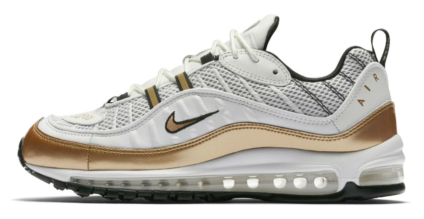 Nike Air Max 98 UK White Gold Release Date Profile
