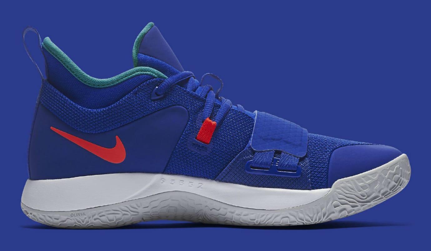 Nike PG 2.5 Fortnite Racer Blue Release Date BQ8452-401 Medial