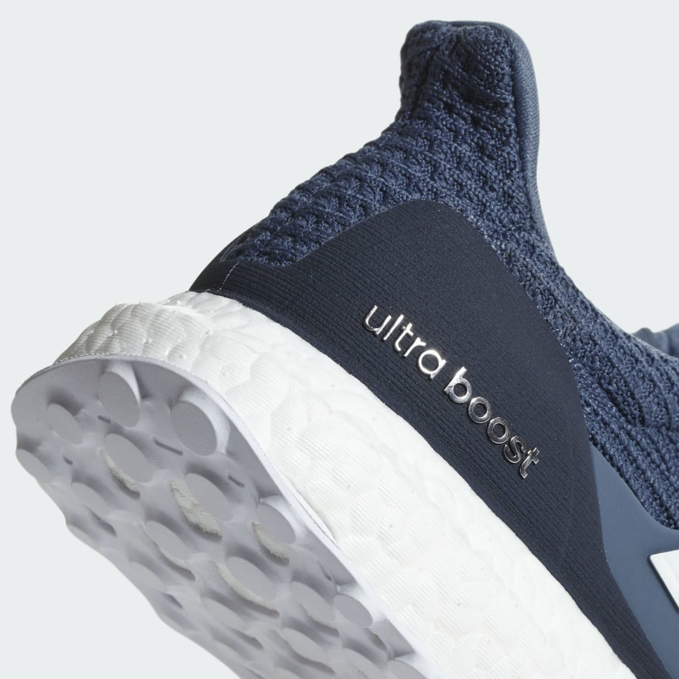00a1845c3dc4d Image via Adidas Adidas Ultra Boost 4.0 Show Your Stripes Tech Ink Release  Date CM8113 Heel