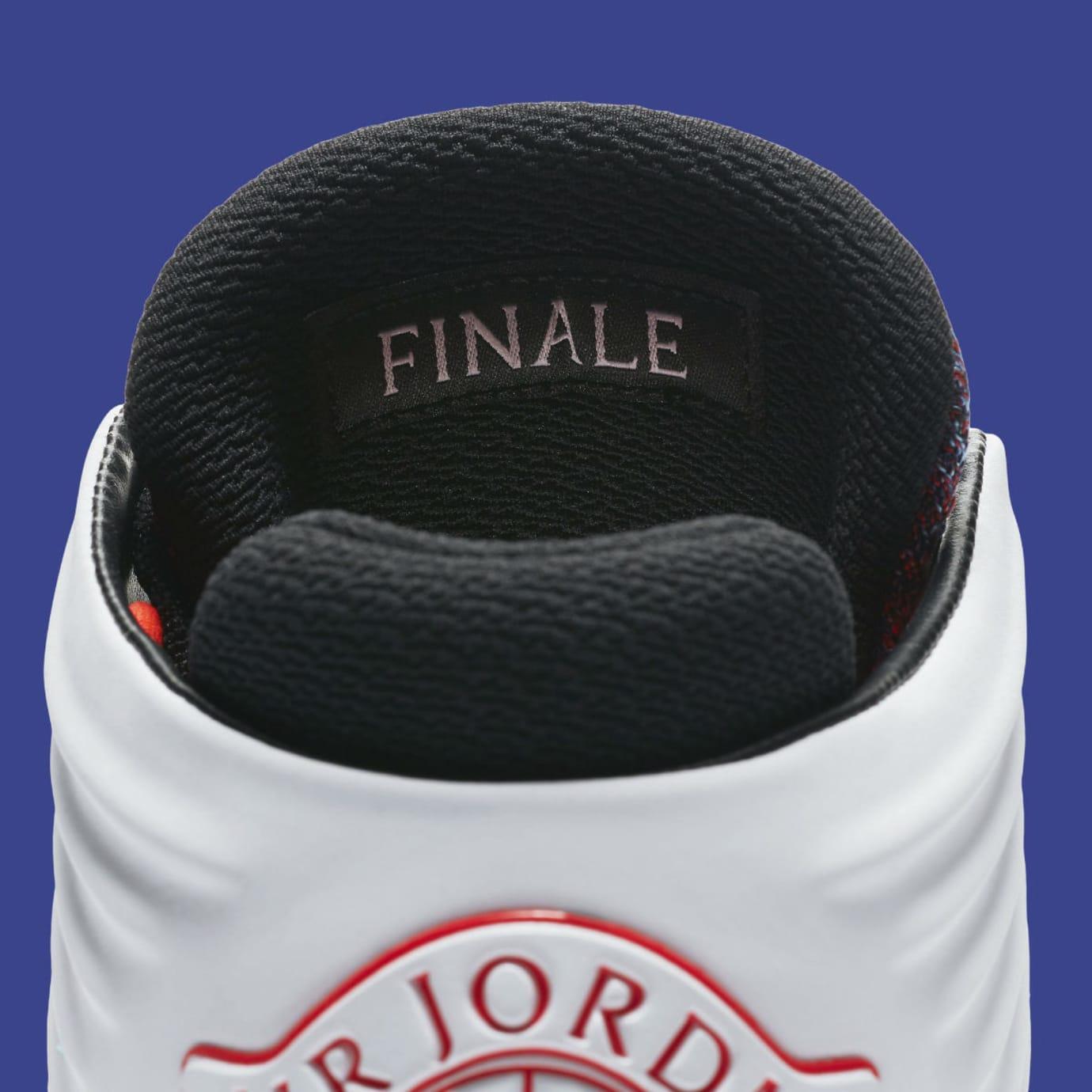Air Jordan 32 XXXII Finale Release Date AA1253-105 Heel