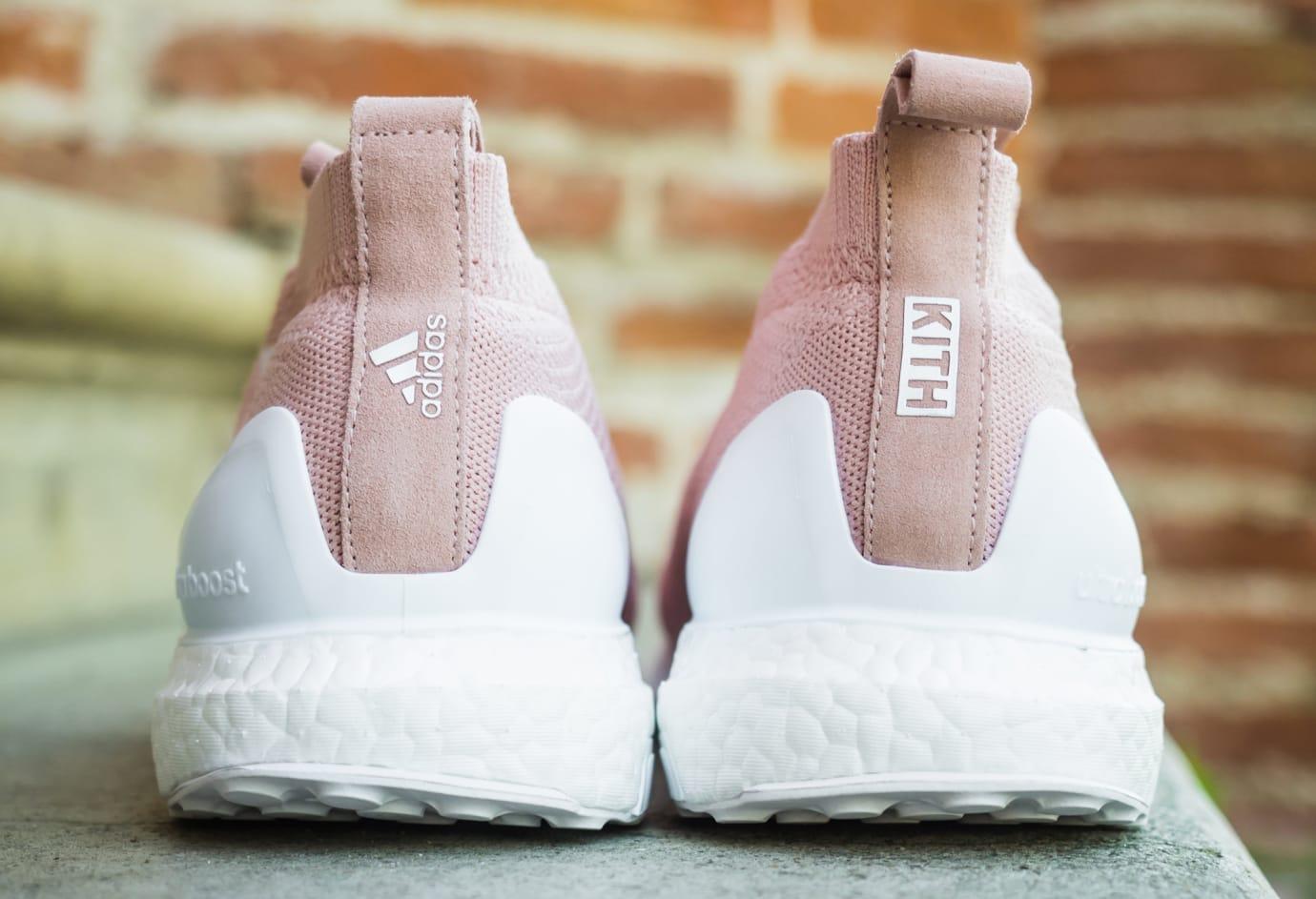 new product 9ce98 0eb3b ... Kith Adidas Ultra Boost Ace 16 Pure Control Flamingo Heel