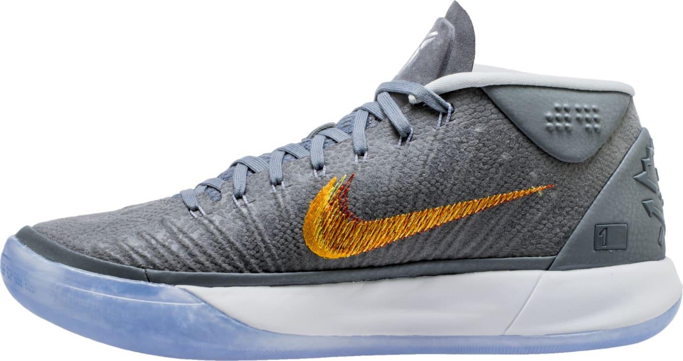 Nike Kobe A.D. Mid Chrome Release Date 922482-005 Medial