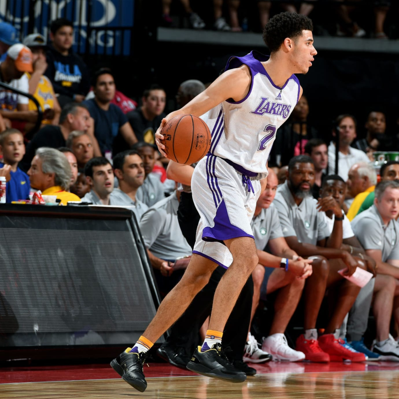Lonzo Ball Gets First Triple-Double in the Big Baller Brand ZO2 (2)