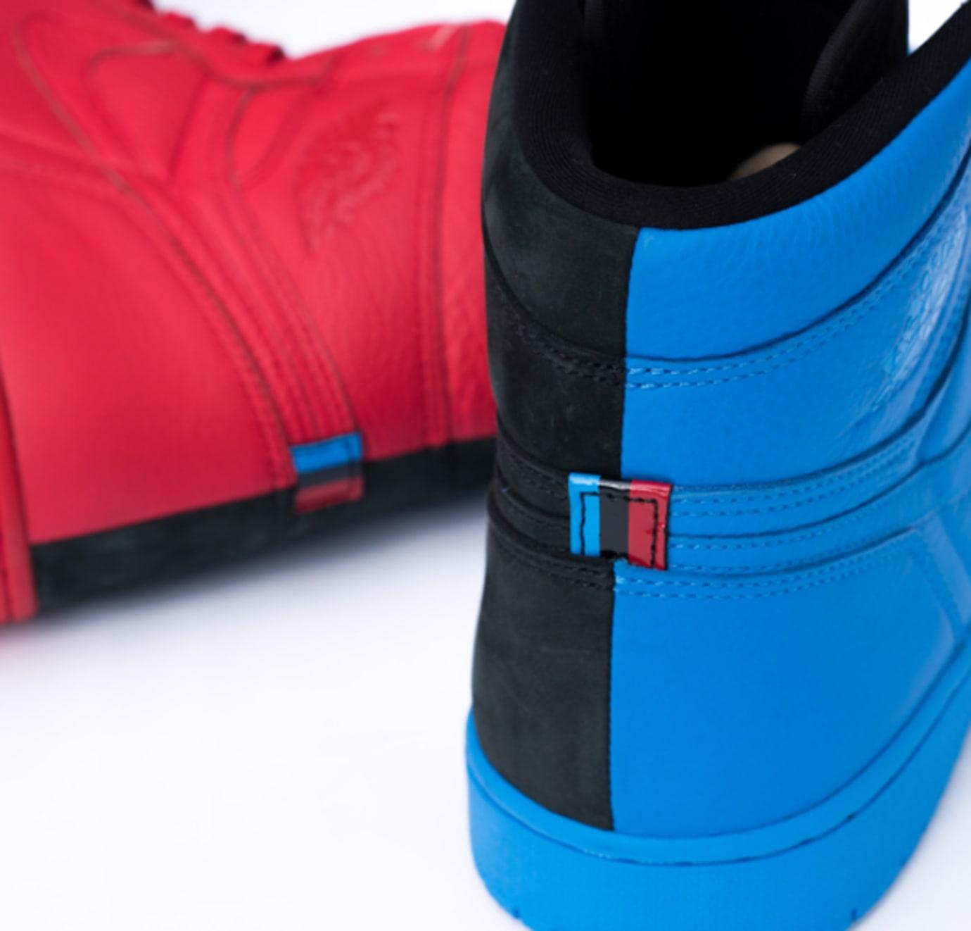 Quai 54 Air Jordan 1 Friends Family Heel