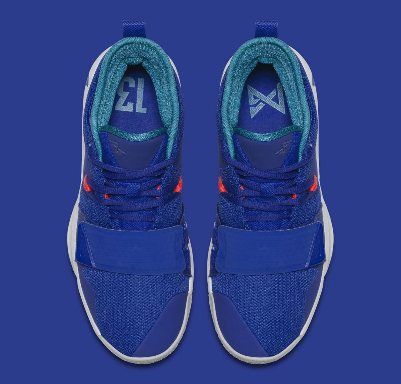 Nike PG 2.5 Fortnite Racer Blue Release Date BQ8452-401 Top