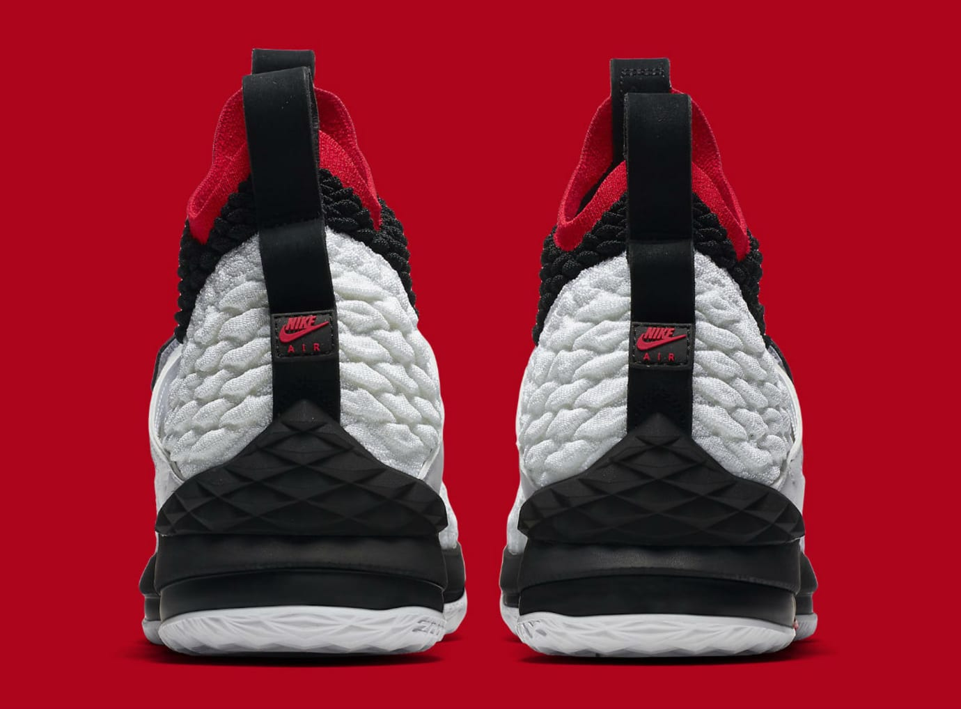 Nike LeBron 15 Diamond Turf Release Date AO9144-100 Heel