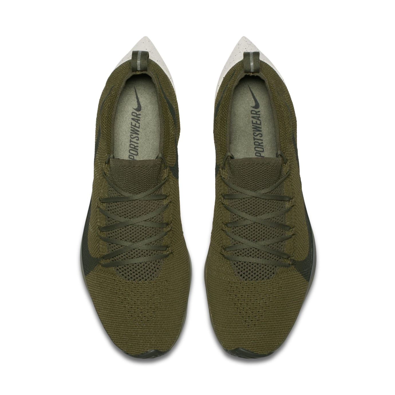 c27037869e Nike Vapor Street Flyknit 'Khaki' AQ1763-200 'Olive' AQ1763-201 ...
