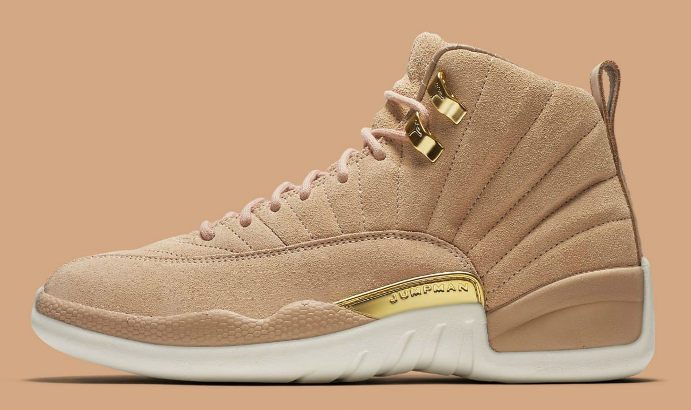 bb2543cd89b1 Air Jordan 12 XII Women s Vachetta Tan Release Date AO6068-203 Main ...