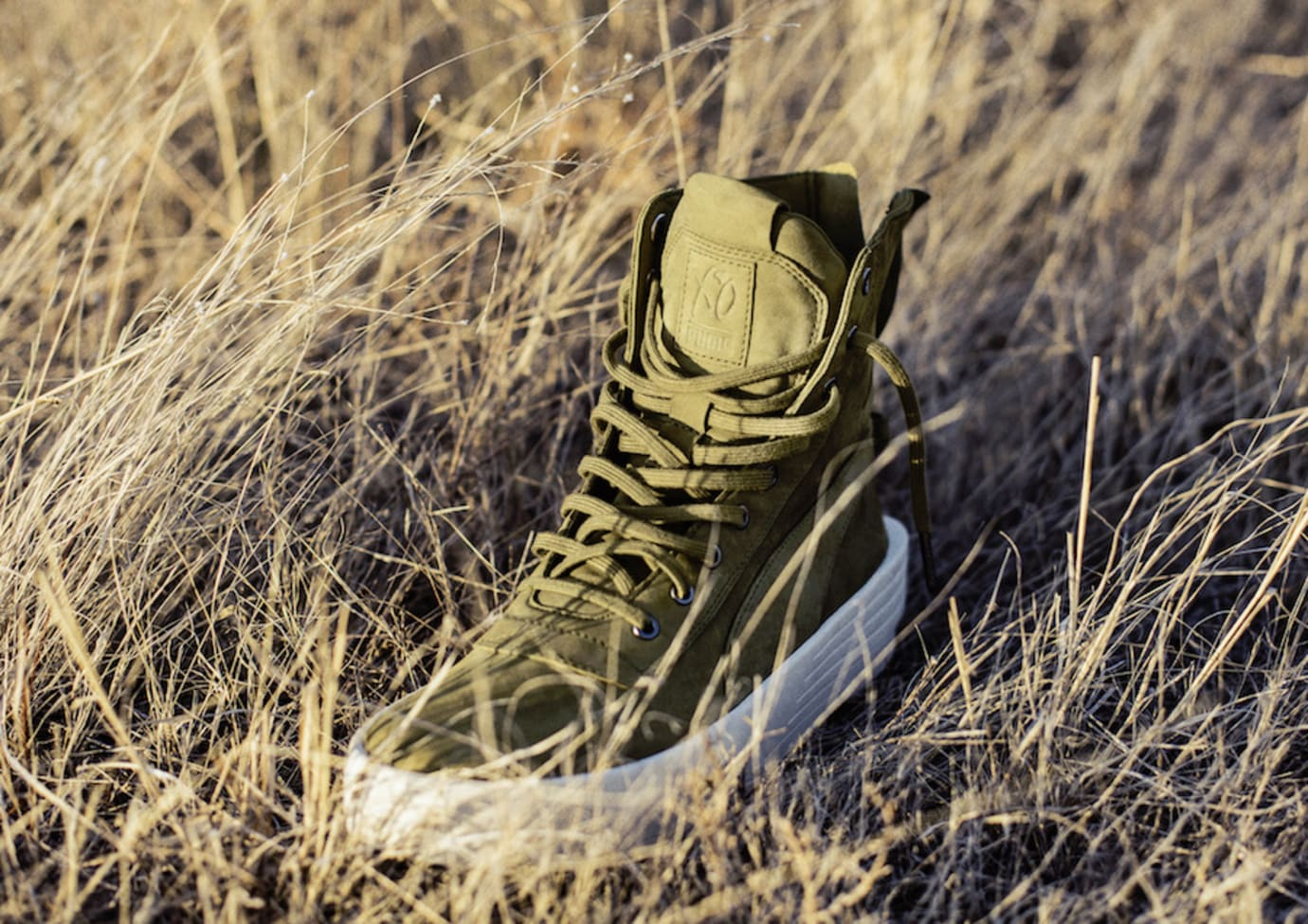 The Weeknd x Puma Parallel Green Release Date Tongue
