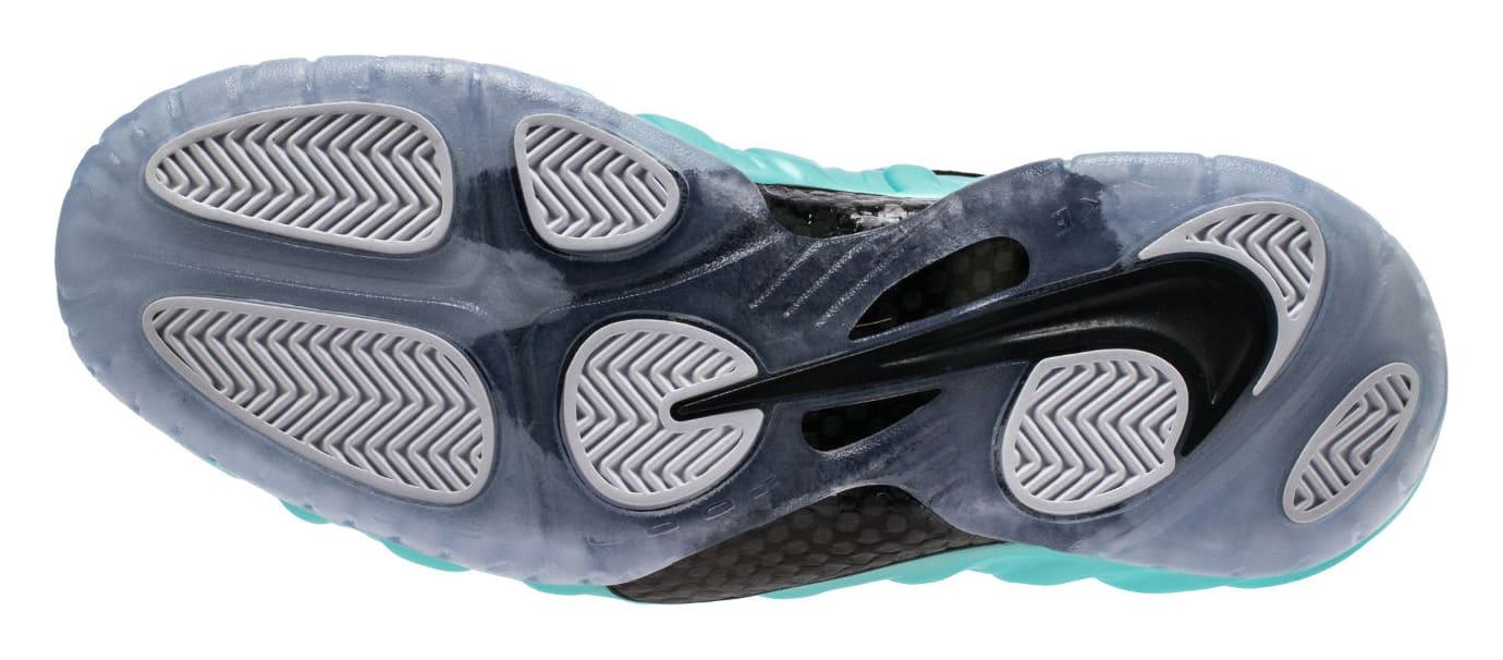 Island Green Nike Air Foamposite Pro 624041-303 Sole