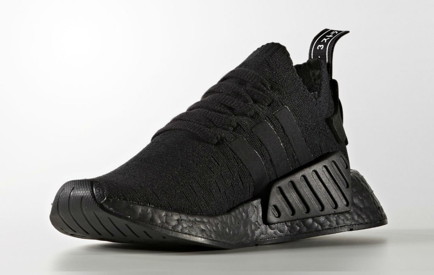 Adidas NMD R2 Triple Black Release Date Medial BY9525