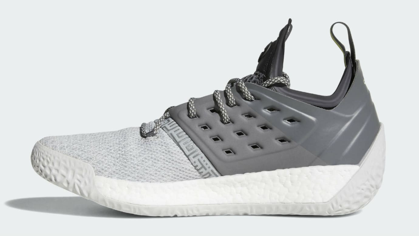 a28168a3aa30 Adidas Harden Vol. 2 Concrete Grey Release Date AH2122 Medial