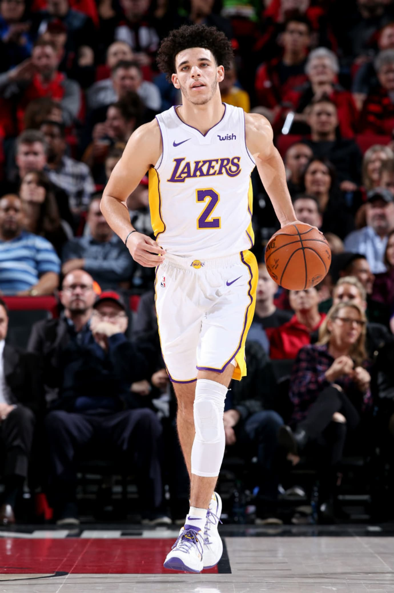 Lonzo Ball Big Baller Brand ZO2 Prime Remix Sho'Time Lakers