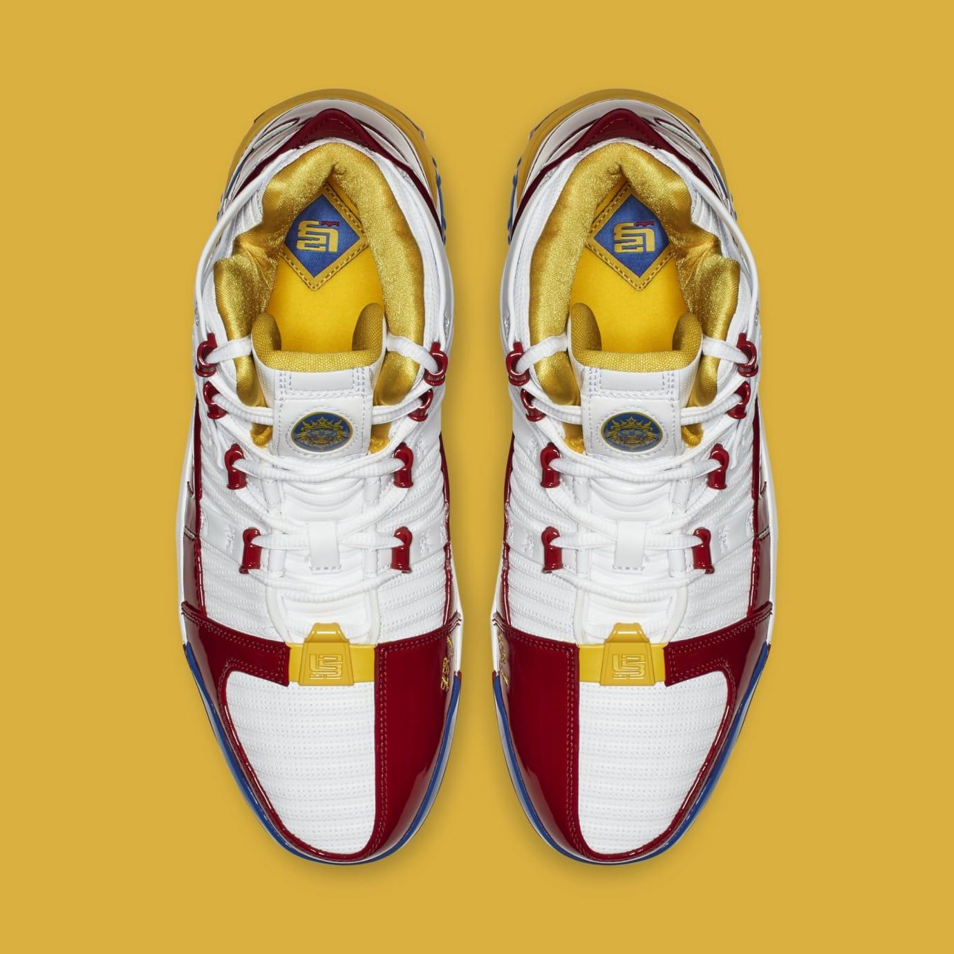 Nike Zoom LeBron 3 'SuperBron' AO2424-100 (Top)