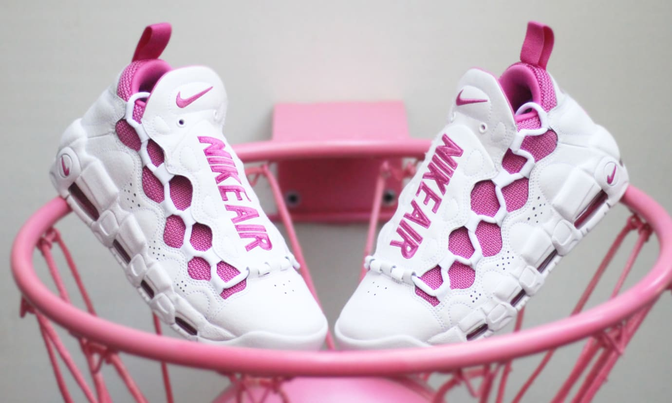 Sneaker Room Nike Air Money Breast Cancer Awareness White
