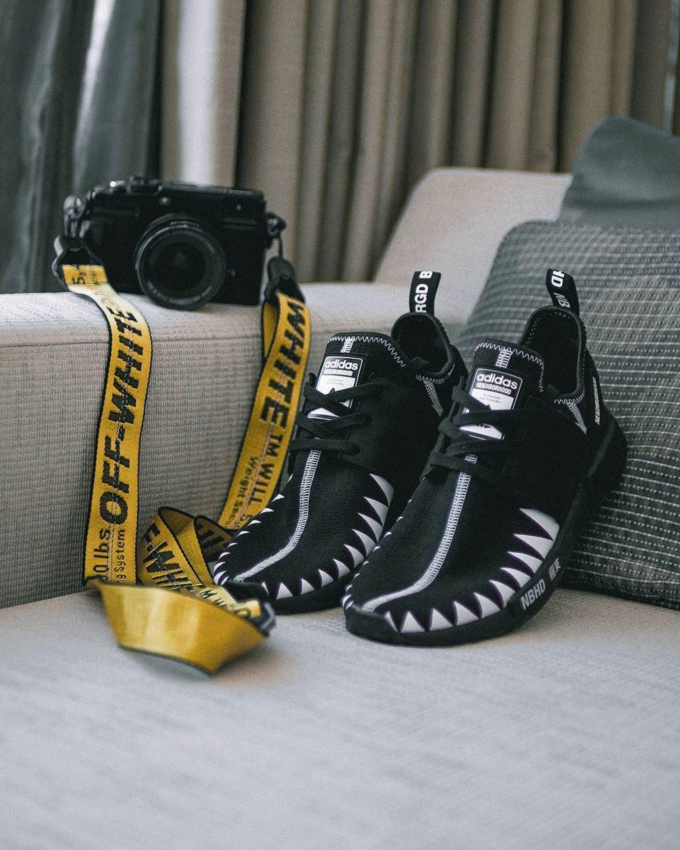 Neighborhood x Adidas NMD On-Foot