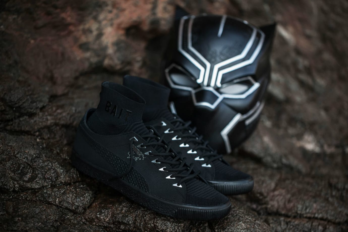 BAIT x Puma Clyde Sock Black Panther Release Date (5)