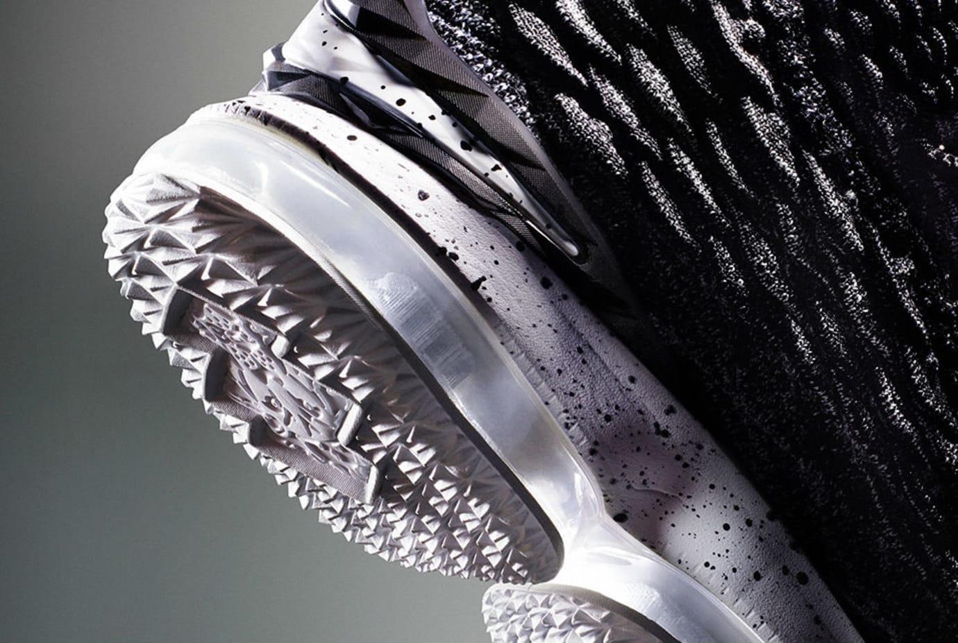 Nike LeBron 15 Grey First Look Sole