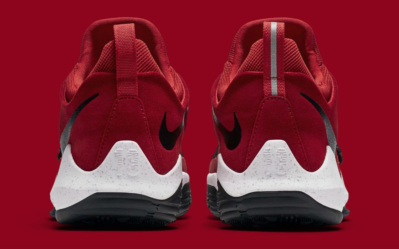 Nike PG1 University Red Release Date Heel 878628-602