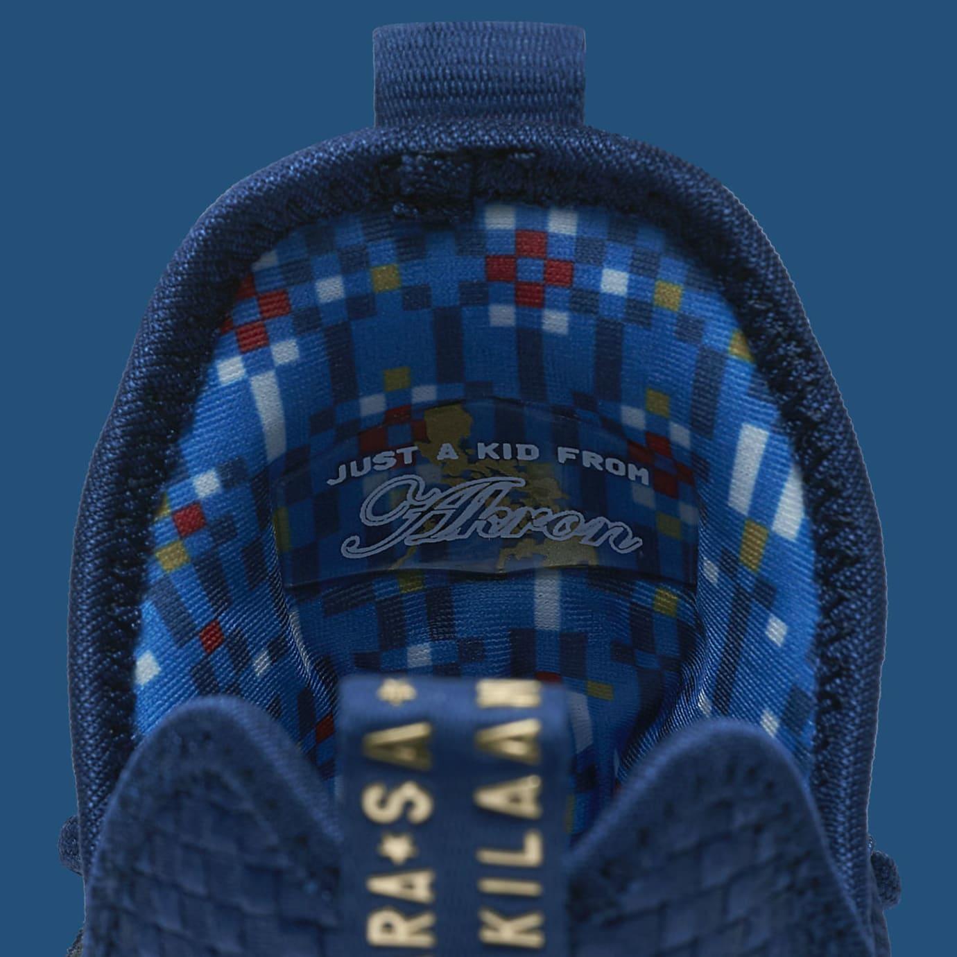 Nike LeBron 14 Agimat U.S. Release Date Tongue Back 852402-400