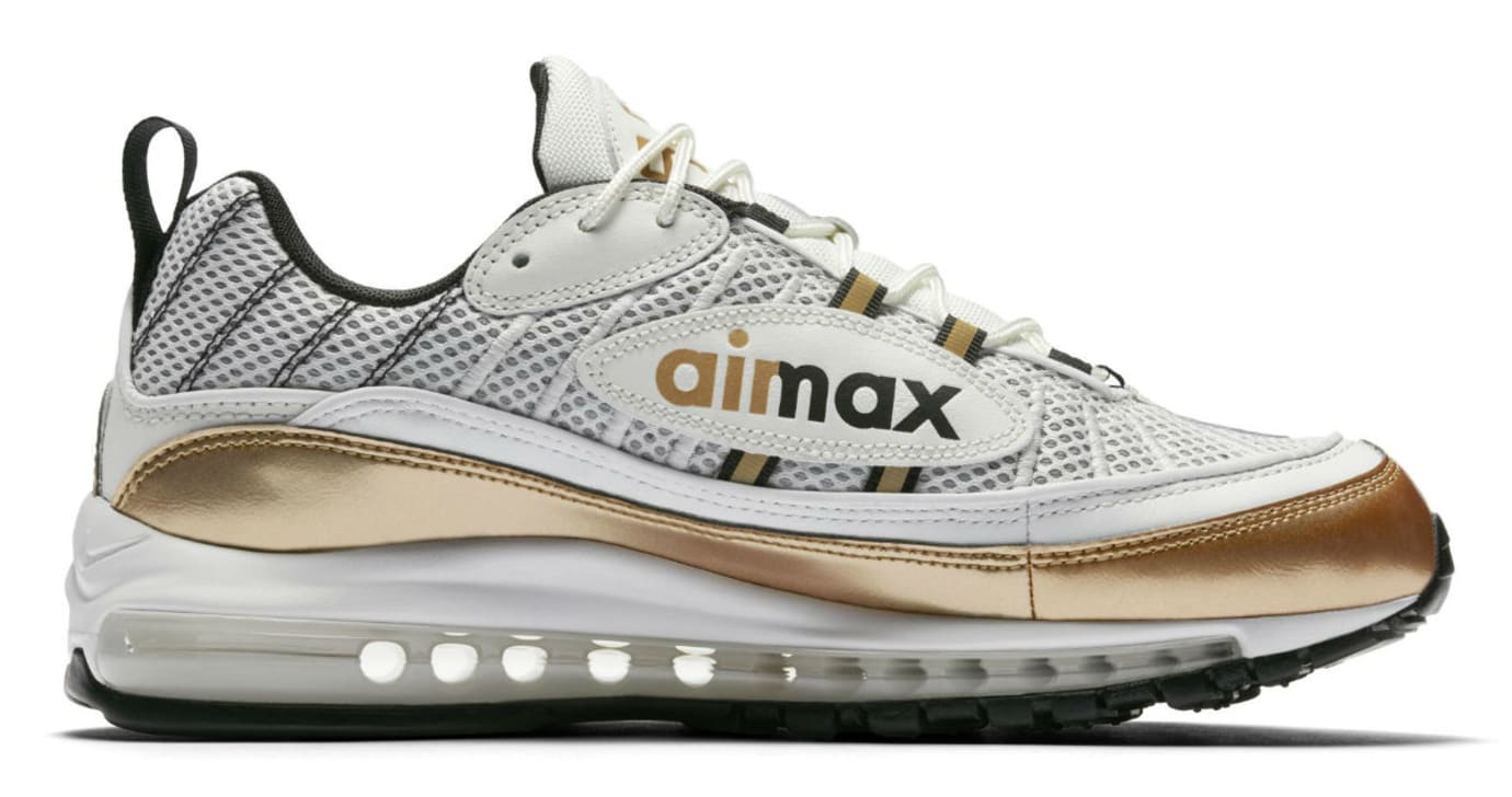 Nike Air Max 98 UK White Gold Release Date Medial