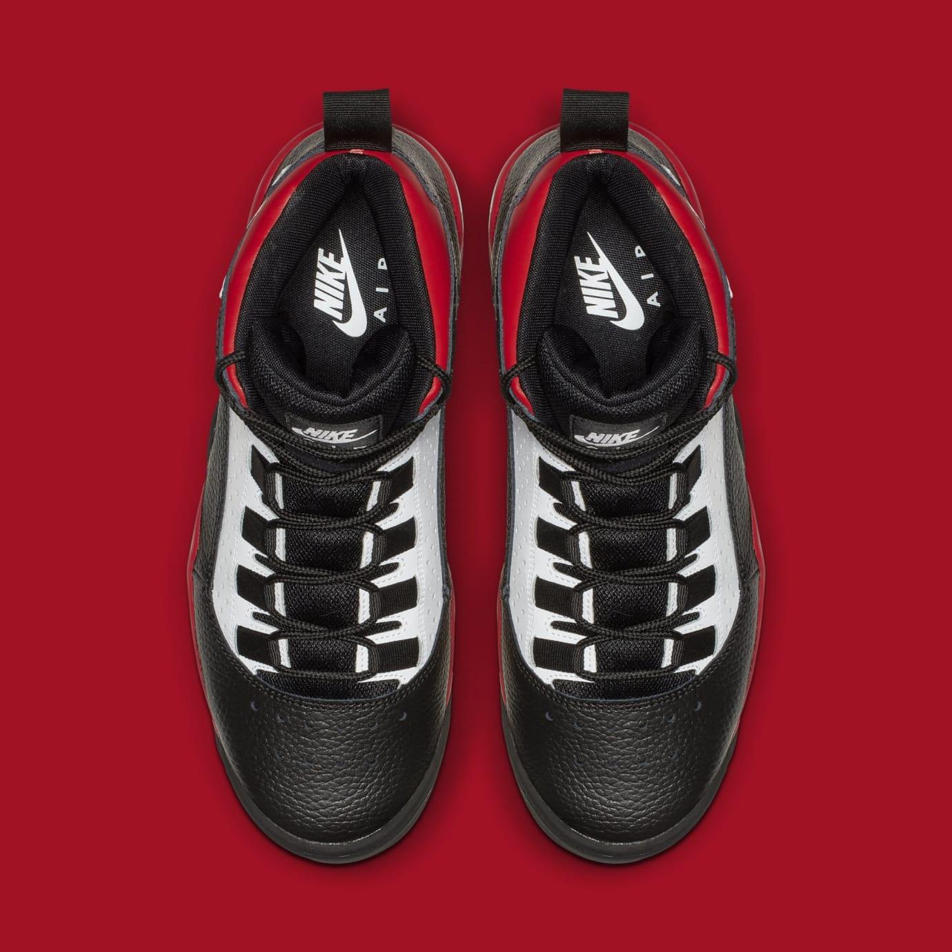 758957aa6b53 Image via Nike Nike Air Darwin  Black White University Red  AJ9710-001 (Top
