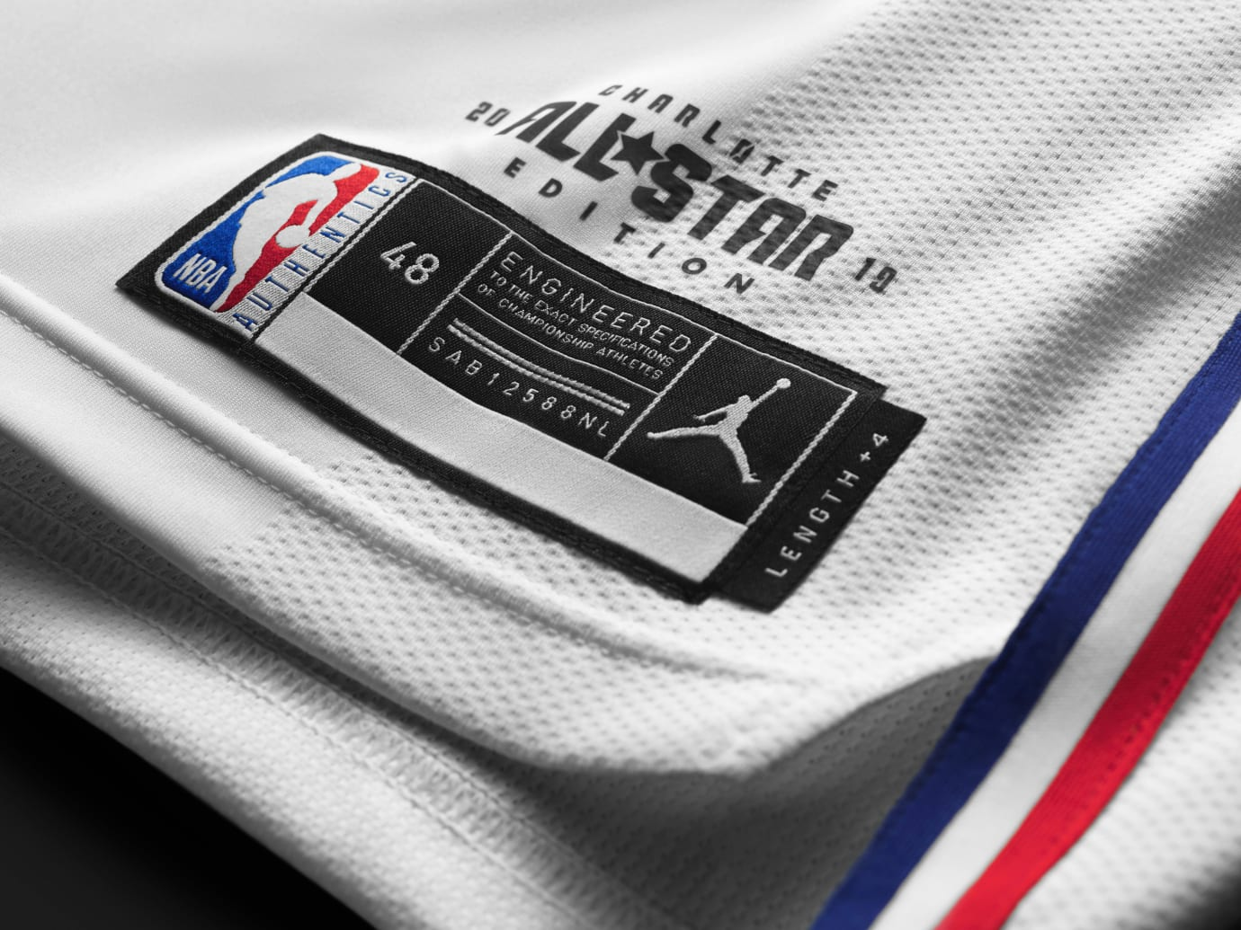 Jordan All-Star Uniform 2019 White Tag