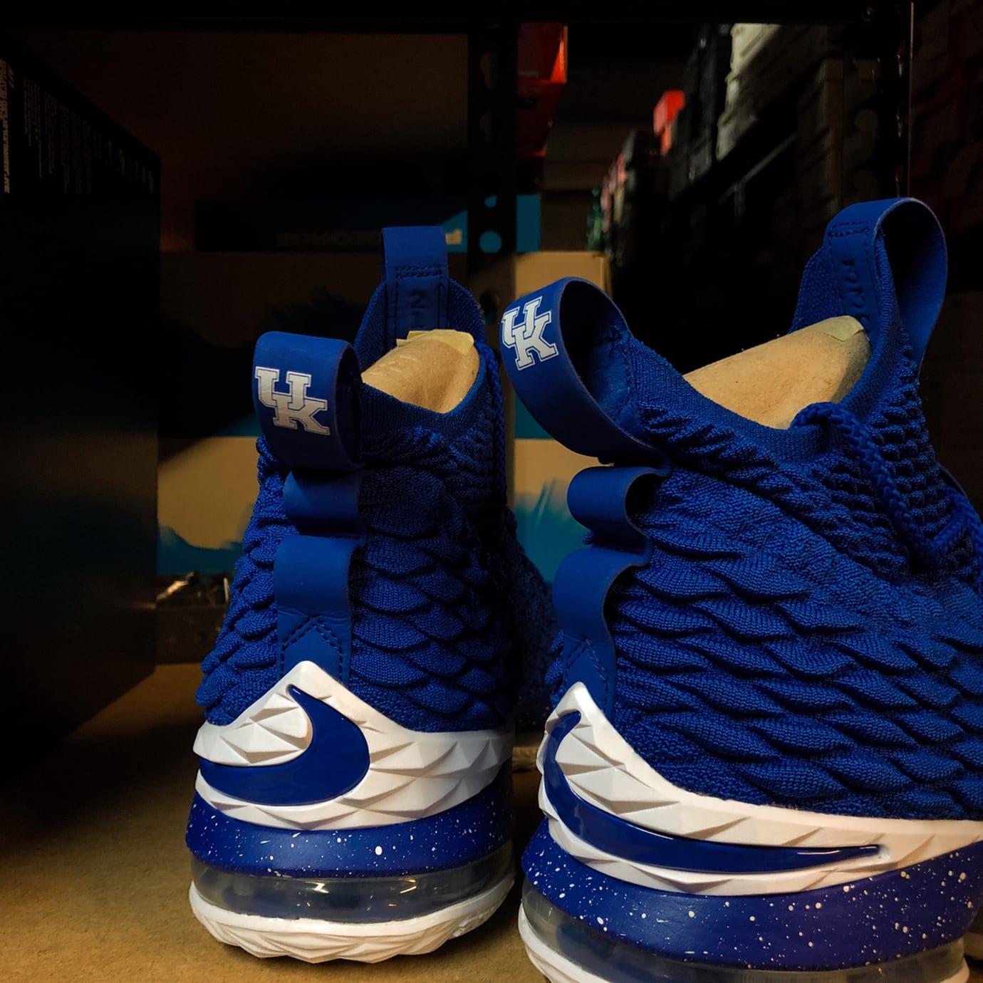 new concept d7fdd 59cc7 Nike LeBron 15 Kentucky PE | Sole Collector