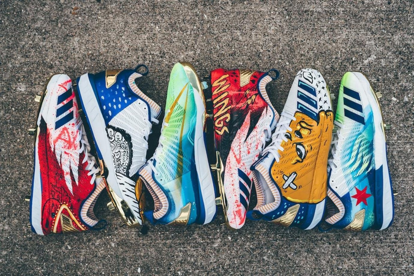 Kris Bryant Adidas Wings for Life Custom Cleats (5)