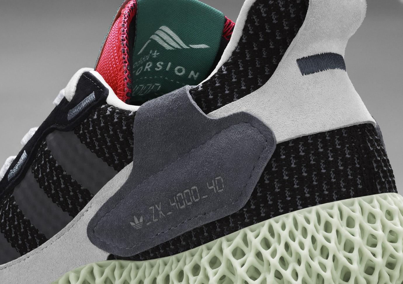 Adidas Consortium ZX4000 4D BD7931 (Detail)