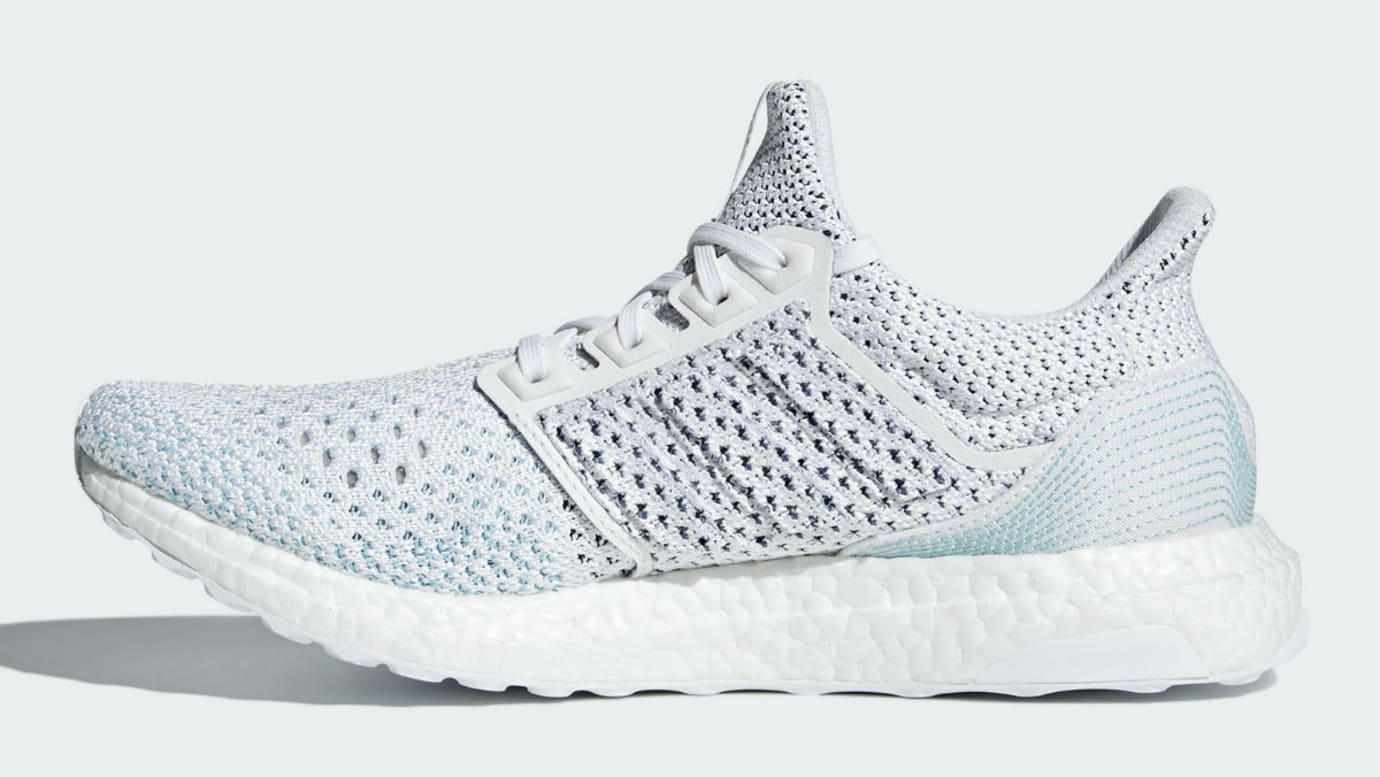 Parley x Adidas Ultra Boost LTD Release Date BB7076 Medial