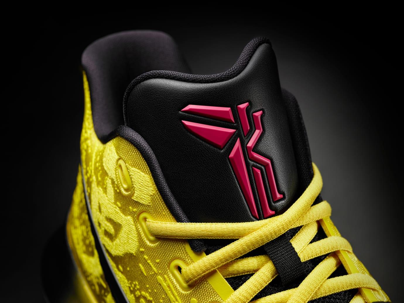 Nike Kyrie 3 Mamba Mentality Bruce Lee Tongue
