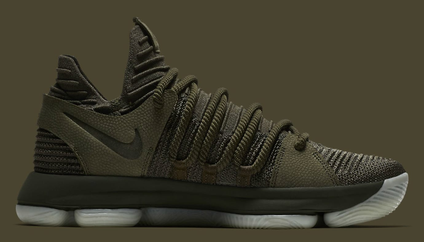 a558ea0ac4cc NikeLab KD 10 Olive Release Date Medial 943298-900