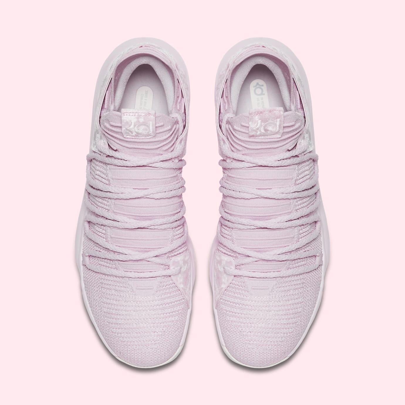 Nike KD 10 'Aunt Pearl' AQ4110-600 (Top)