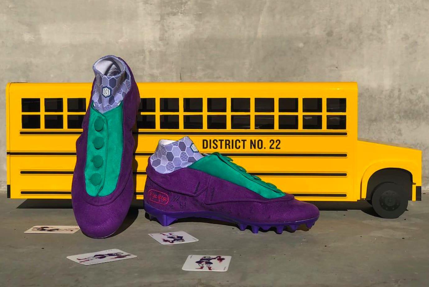 Odell Beckham Jr. Nike 'Joker' Cleats 6