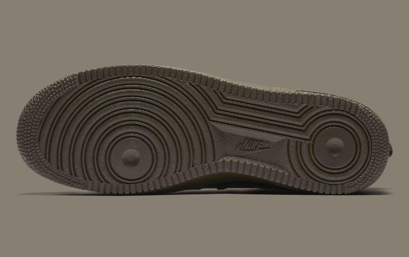 Nike SF Air Force 1 Mid Cargo Khaki Release Date Sole 917753-002