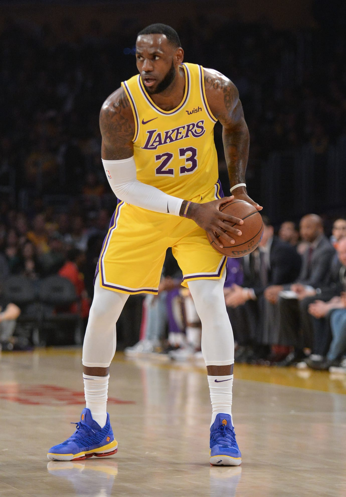 LeBron James Debuts the 'SuperBron Blue' Nike LeBron 16
