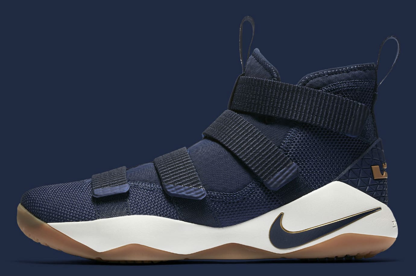 6ee804c7dfa8 Nike LeBron Soldier 11 Cavs Navy Release Date Profile 897644-402