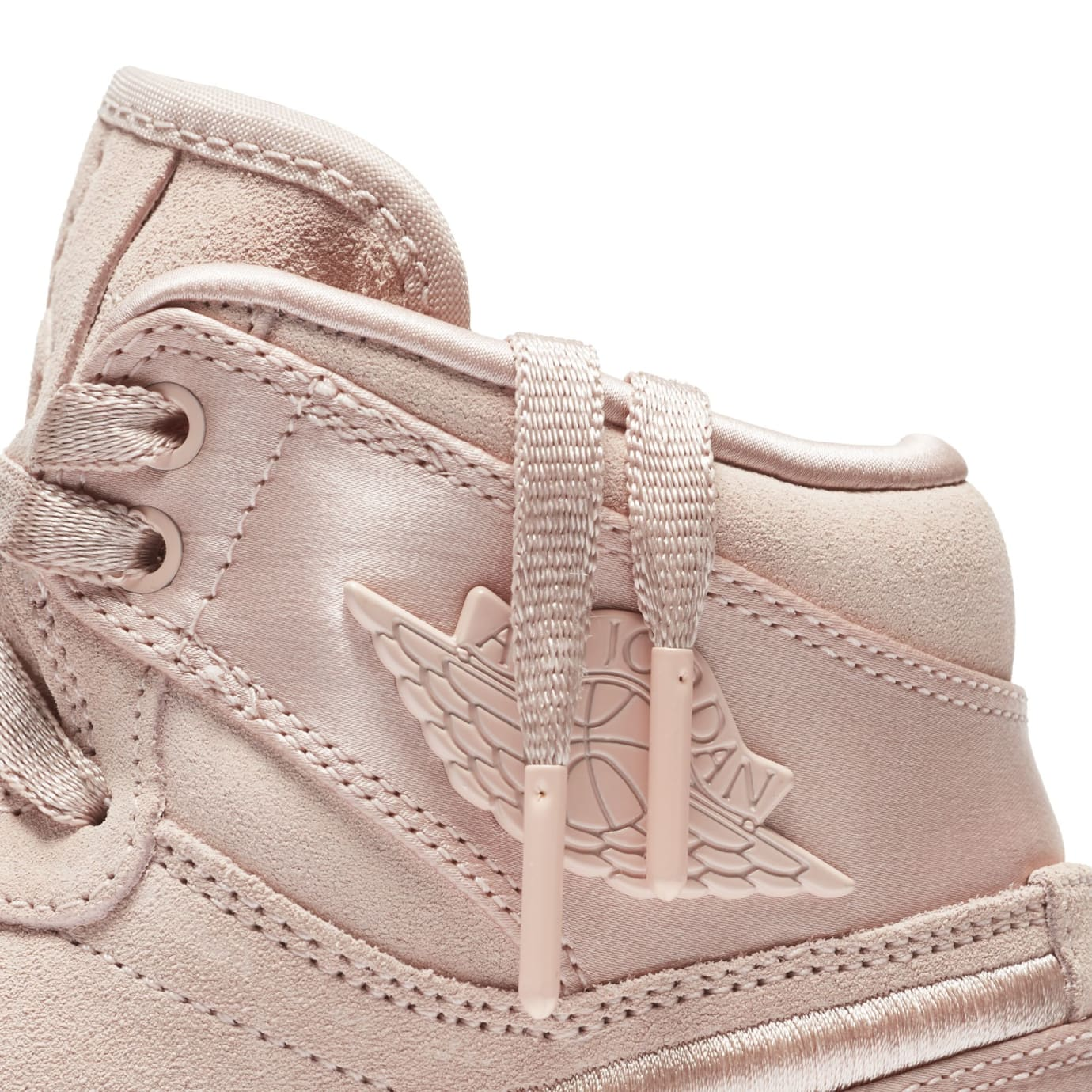 Air Jordan 1 Summer of High 'Sunset Tint' Sunset Tint/White-Metallic Gold (Detail)