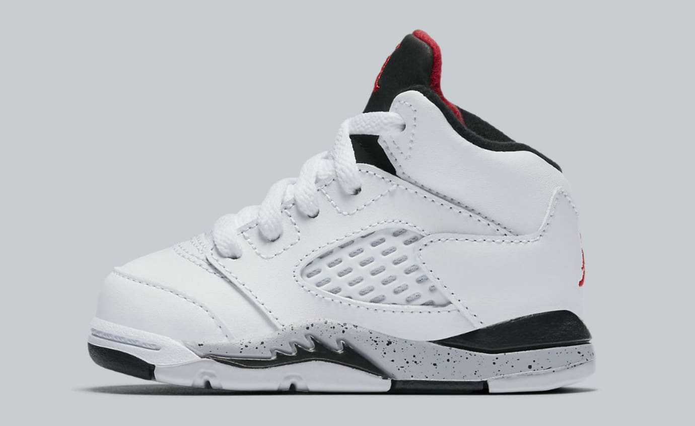 Air Jordan 5 White Cement Release Date Toddler 440890-104​