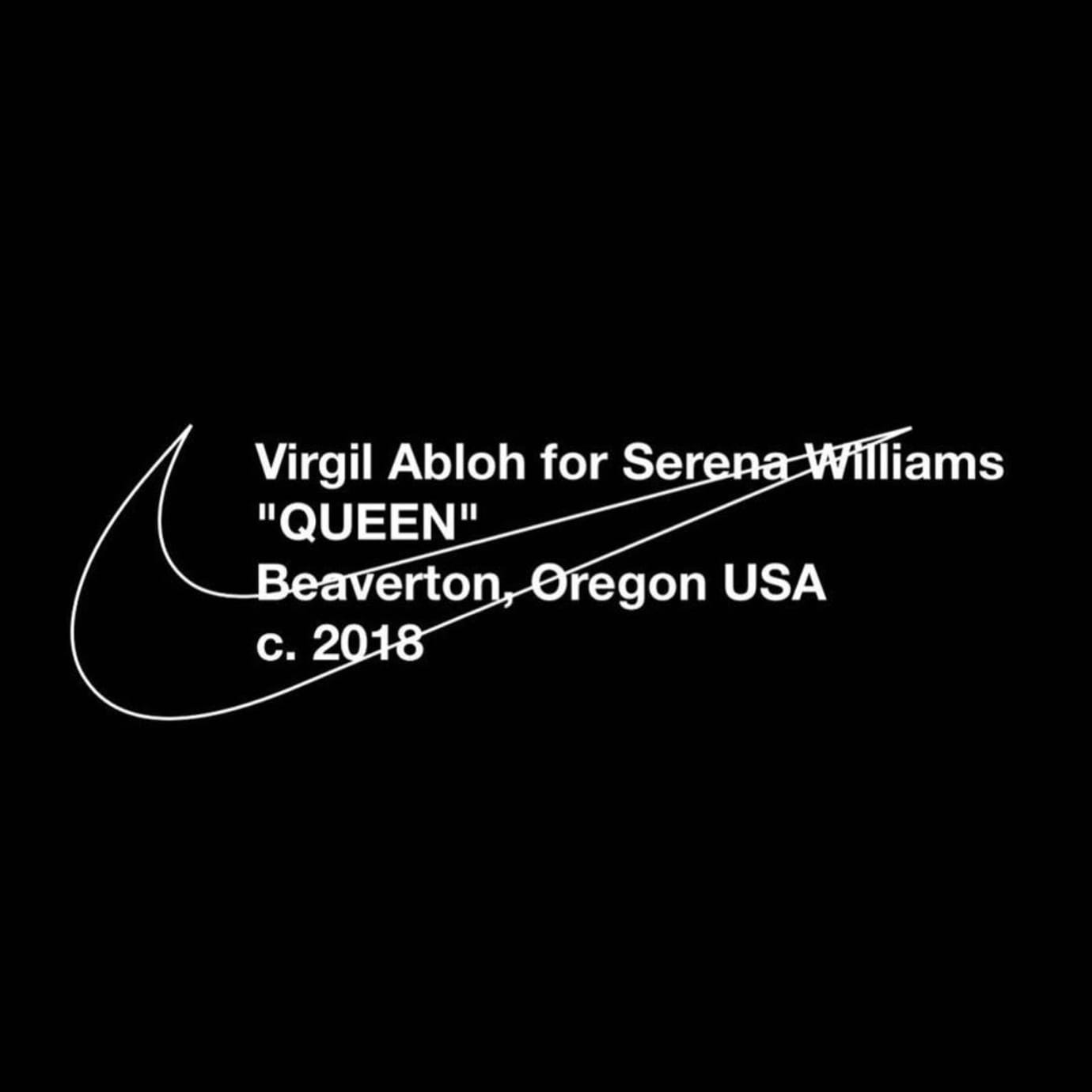 Virgil Abloh x Serena Williams Off-White