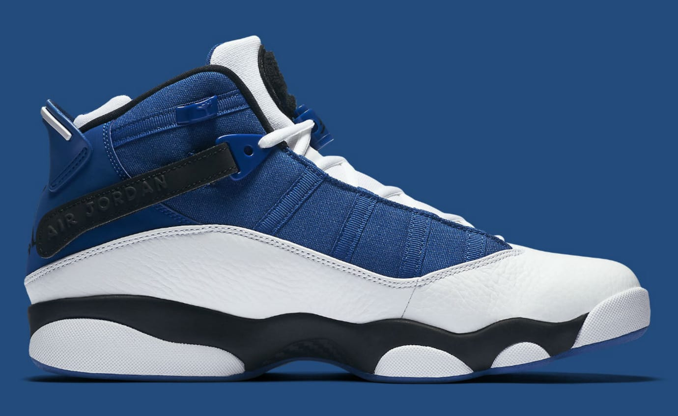 low priced c47eb be590 Jordan 6 Rings 2017 French Blue Release Date Medial 322992-400