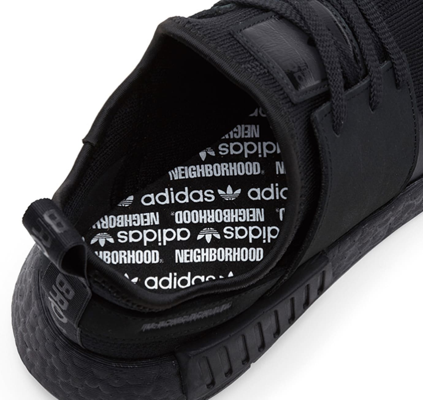 Neighborhood x Adidas NMD_R1 PK 'Triple Black' (Detail 3)