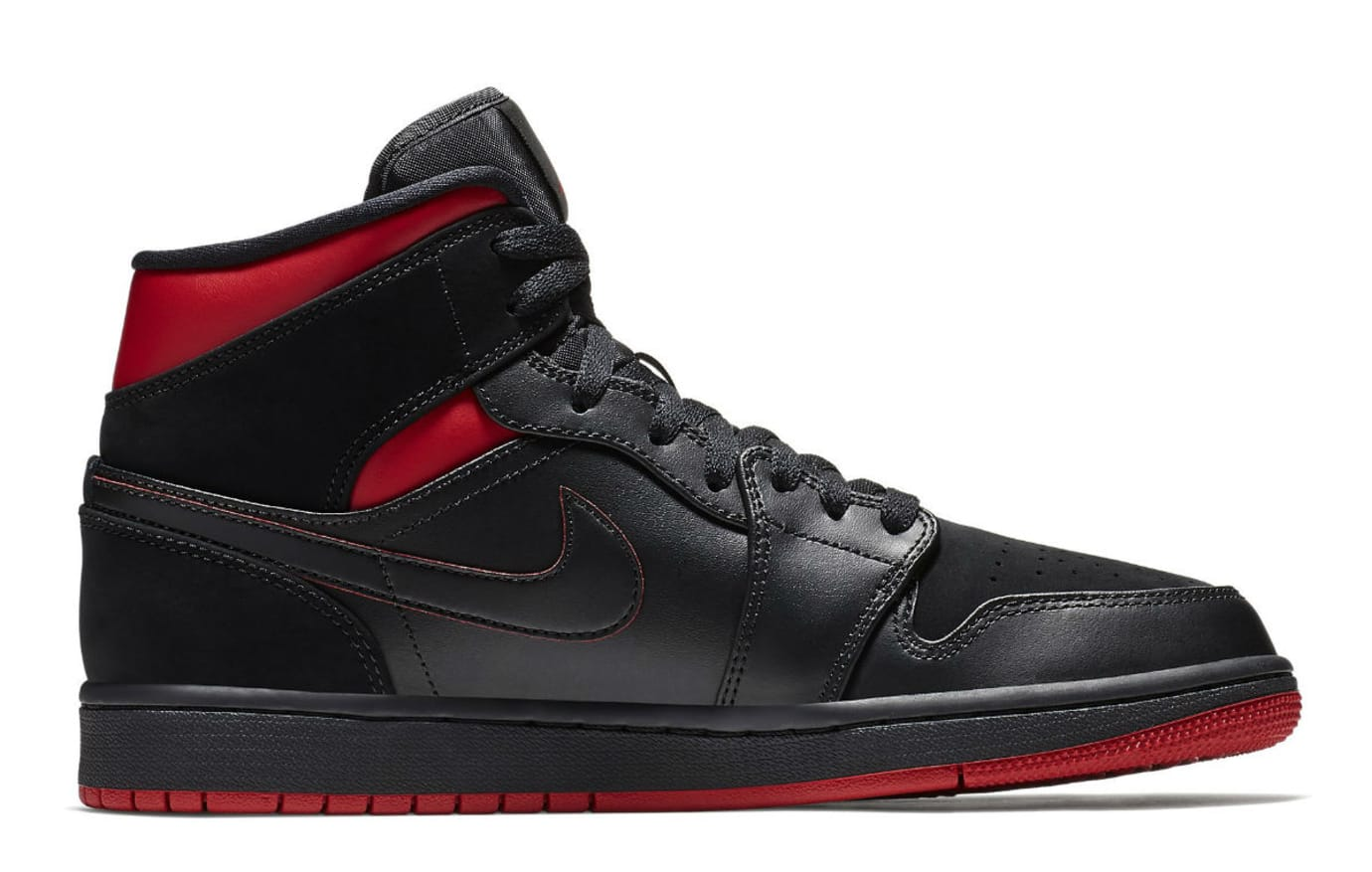 Air Jordan 1 Mid Last Shot Release Date 554724-076 Medial