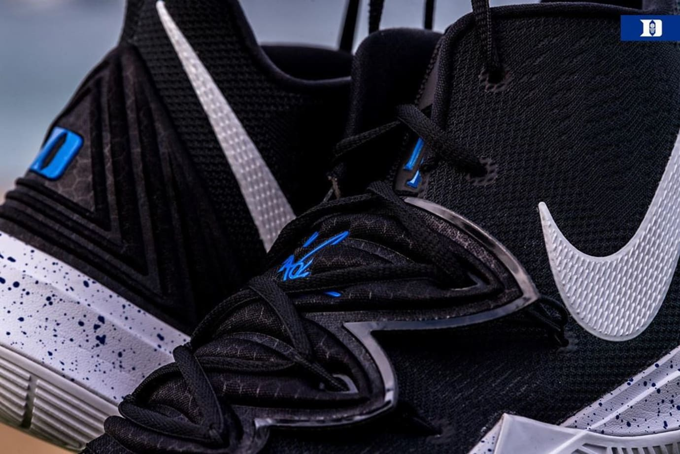 Nike Kyrie 5 'Duke' PE Black (Detail)