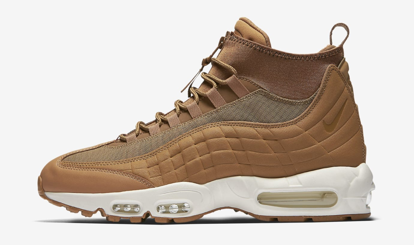 huge selection of ec7d4 17114 Image via Nike Wheat Nike Air Max 95 Flax 806809-201